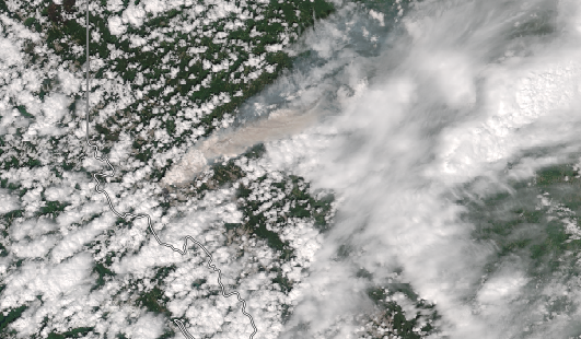 Suomi NPP True Color Image on 11 June (click to enlarge)